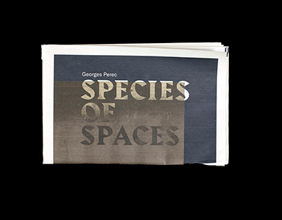 Georges Perec's Species of Spaces