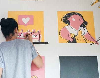 Painting MURAL – Madrid SPN