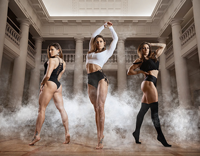 Manon Vergé - Fitness Photoshoot
