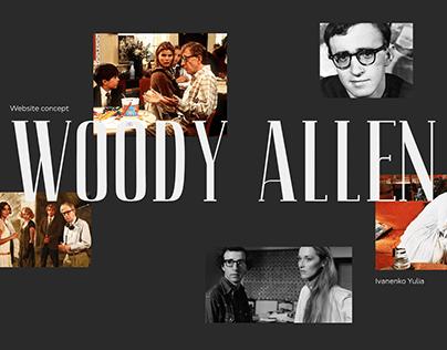 Woody Allen website concept