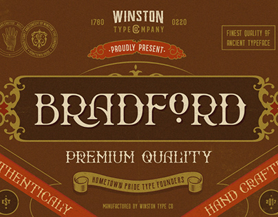 WT Bradford // Free Font