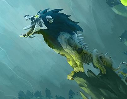 """Zombie Scar"", 1er premio en Gnomon 2D Challenge"