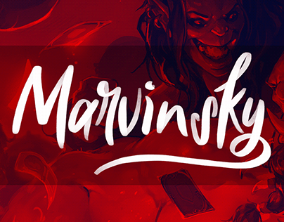 Marvinsky's Youtube Channel - Logo & Motion Design