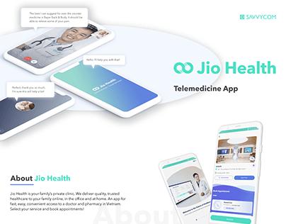 Jio Health - Telemedicine Mobile Application