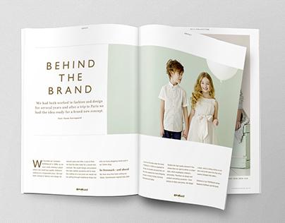 Catalogue Design Exam Project