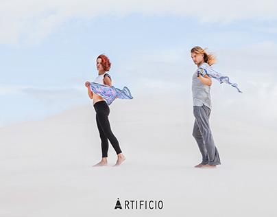 """Campaña """"Explora"""" ARTIFICIO Silkscarves (Fotografía)"""