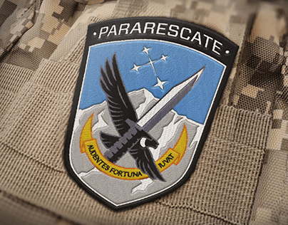 Sección Pararescate (FAA), Patch and logo design.