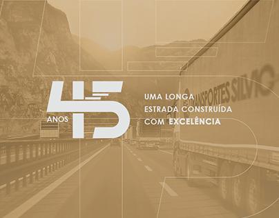 Transportes Silvio | Campanha 45 anos | Janeiro 2020