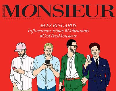 Monsieur magazine September issue