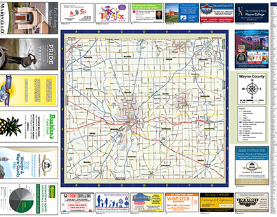 Wooster Chamber of Commerce map