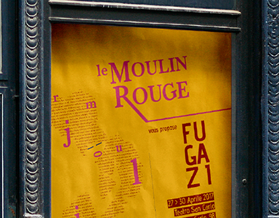 Moulin Rouge - Fugazi | Poster