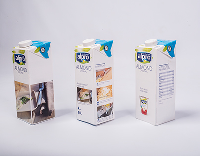 Alpro's SuperPaper milk carton app