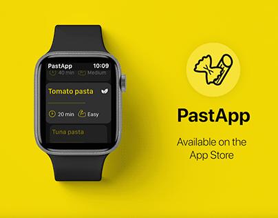 PastApp - Apple Watch