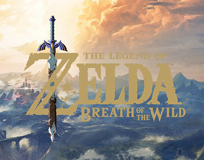 ZELDA - Breath of the Wild Homepage Redesign