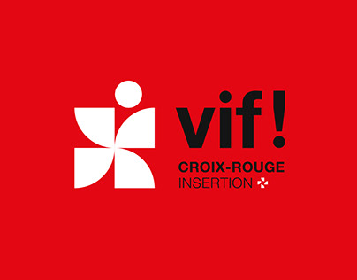 Croix-Rouge Insertion - Brand design