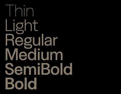 Labour Grotesk Typeface