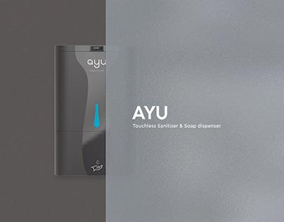 AYU - TOUCHLESS SANITIZER & SOAP DISPENSER