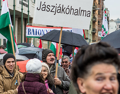 Documentary Photography - Hungarian Right Wing