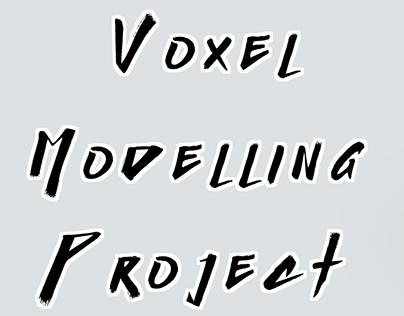 Voxel Modelling Project - P90 Planeswalker