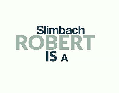 Kinetic Typography - Robert Slimbach