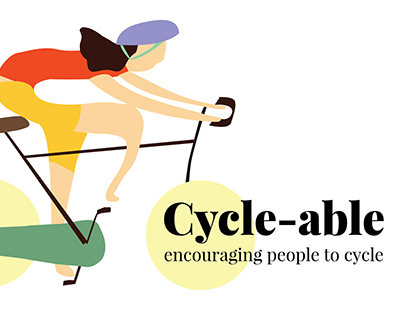 Encouraging people to cycle