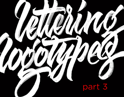 Lettering Logotypes Part 3