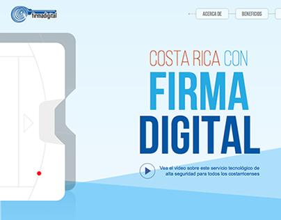 WEB: Firma Digital