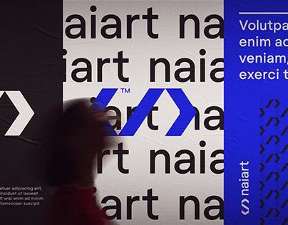 NAIART - Branding Development