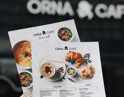 Orna Café - Cardápio / Menu