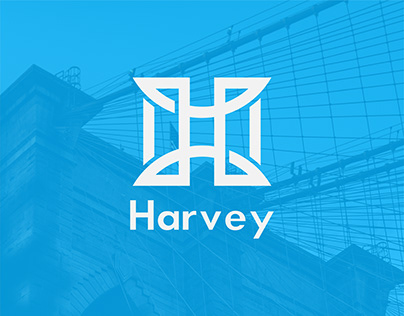 Harvey Construction - Brand Identity Design