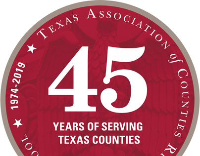 TAC Risk Pool 45th Anniversary Emblem