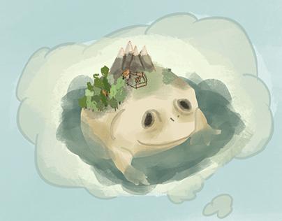 Weekly frog arts