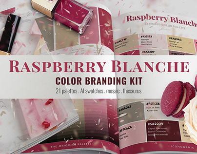 Raspberry Blanche Color Branding Kit