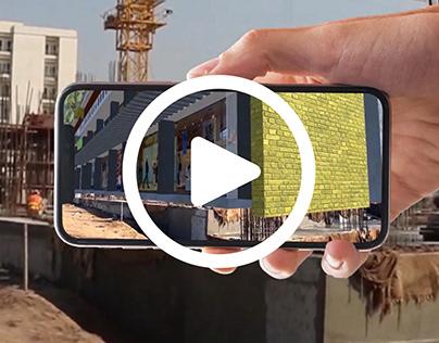 3D On Construction Site - Prop Tech   mimAR