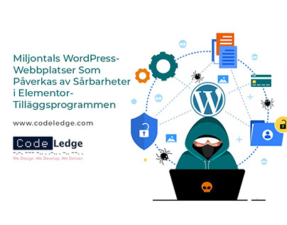 Sårbarheter Elementor Plugins miljontals WordPress