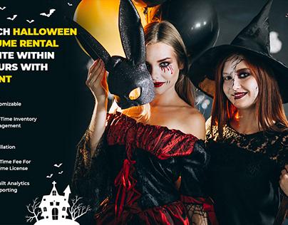 Launch P2P Halloween Costume Rental Website with YoRent