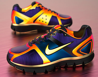 Nike & Instagram collaboration for sports shoe