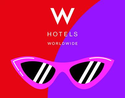 W Hotels Instagram & Snapchat GIFs