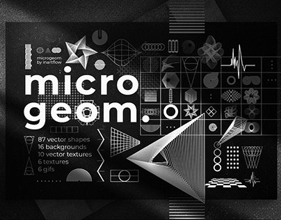 Microgeom - Geometric Shapes, Textures, Backgrounds