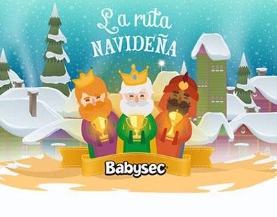 Campaña Navidad Babysec Colombia 2015