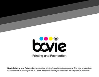 Bovie Logo Design
