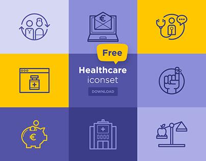 Free - Healthcare Iconset