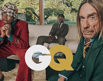 GQ Magazine Redesign