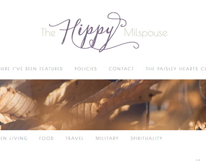 The Hippy Milspouse Branding & Development