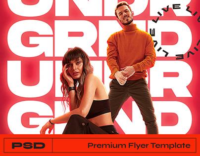 DJ Flyer - Photoshop Template
