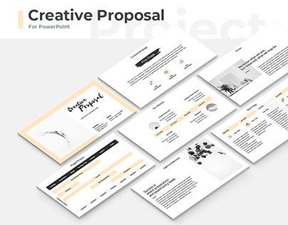 Creative Proposal Presentation Template