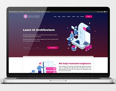 Logic Room Website & Branding