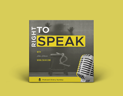 Podcast Design with free PSD