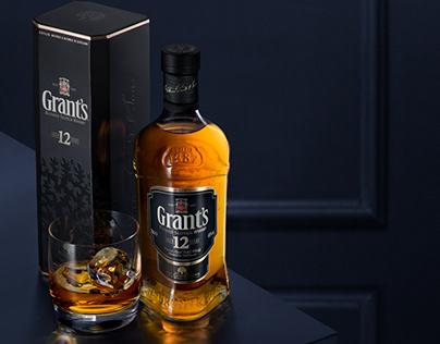 Grants 12yo whisky