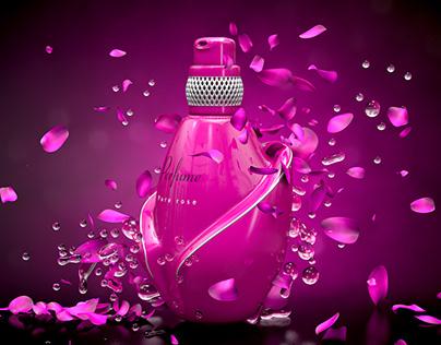 Women's perfume   Cinema 4d Render
